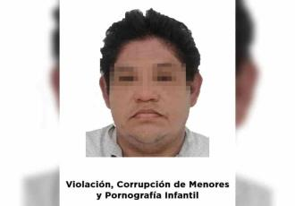 Vinculan a proceso a profesor de Cunduacán por pornografía infantil, corrupción de menores y violación