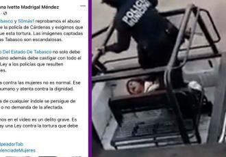 """Reprueba Colectivo """"50 + 1"""" abuso policial contra mujer en Cárdenas"""