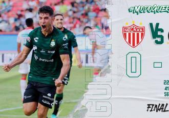 Santos golea al Necaxa en el arranque de la Liga MX