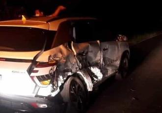 Se registra accidente múltiple en la Cunduacán-Comalcalco; una unidad de Pemex estuvo involucrada