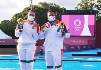 Gobierno de México felicita a Alejandra Valencia y Luis Álvarez, tras obtener primera medalla para la delegación mexicana en JJOO