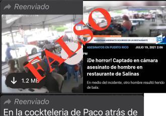 Desmiente Gobierno de Tabasco que ejecución en restaurante haya sucedido en la entidad