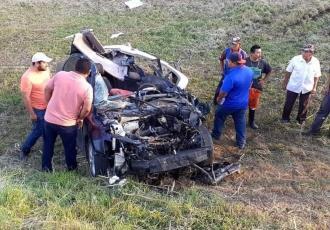 Fallece hombre en trágico accidente en la vía Cárdenas-Coatzacoalcos
