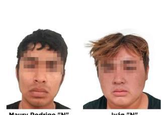Detienen a dos sujetos por presunto delito de corrupción de menores y pornografía infantil en Centla