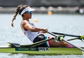 La mexicana Kenia Lechuga termina cuarto en remo en Tokio 2020; pierde oportunidad de medalla