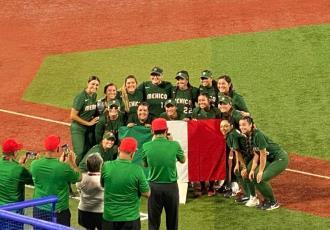 Gana México su primer partido de softbol femenino en Tokio 2020 ante Italia