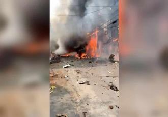 En California, avión se estrella y provoca incendio forestal