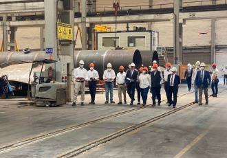 Supervisa Rocío Nahle en Turquía construcción de equipo para Dos Bocas