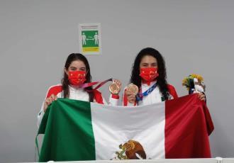 Felicita AMLO a mexicanos que ganaron medallas de bronce en Tokio; dice que las sintió como si fueran de oro