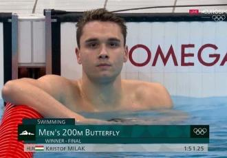 Húngaro supera récord olímpico de Michael Phelps