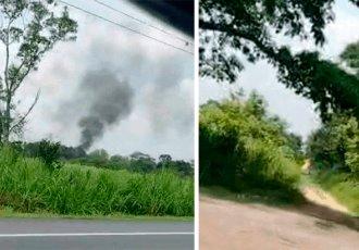 Roban pipa y le prenden fuego en el poblado C-34