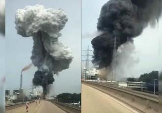 Explosión en planta de residuos en Alemania deja un muerto y 16 heridos