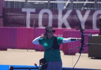 Avanza Alejandra Valencia a los octavos de final de tiro con arco; busca obtener su segunda medalla en los Juegos Olímpicos de Tokio