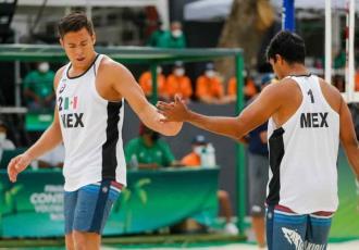 México cae ante República Checa en voleibol de playa