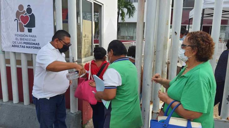 Se incorporan 33 mil beneficiados al programa de Pensión para el Bienestar en Tabasco