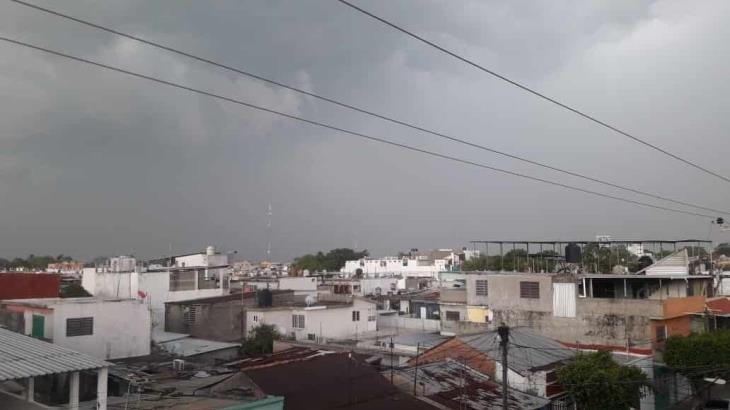 Lluvias por debajo de los 25 milímetros pronostican para hoy martes en Tabasco