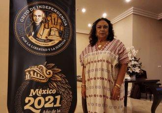 """¡Viva López Obrador!"", grita cónsul de México en Estambul, Isabel Arvide"