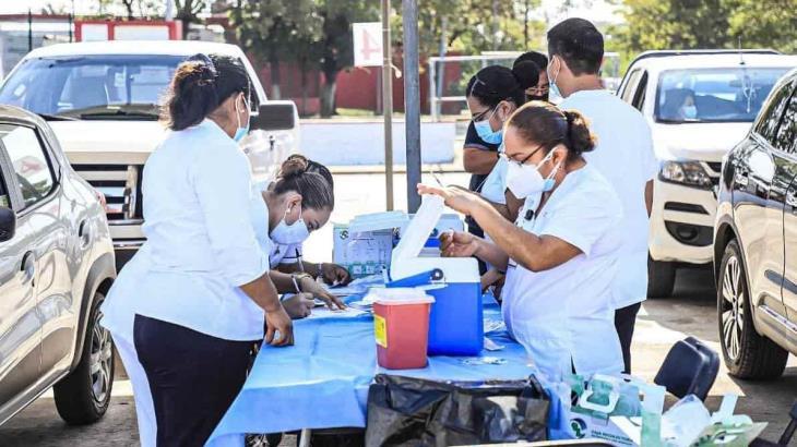 Reanuda hoy Salud Tabasco aplicación de dosis contra el COVID-19 a rezagados en Centro y Cárdenas
