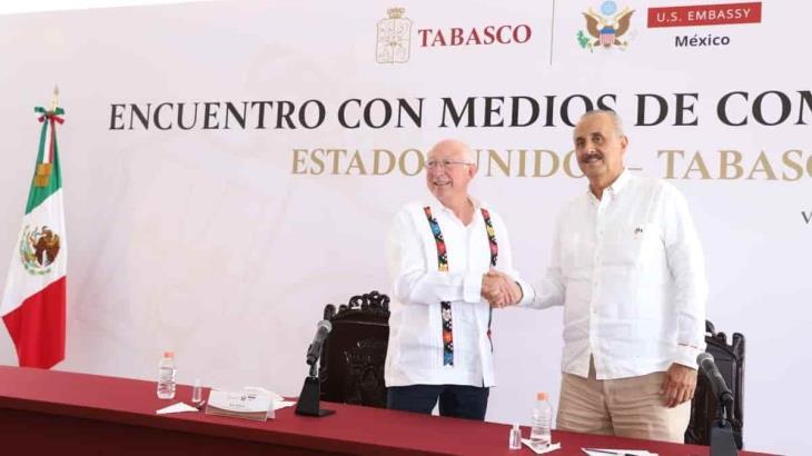 Tabasco requiere más esfuerzo, porque en el pasado se dejó a un lado: Ken Salazar