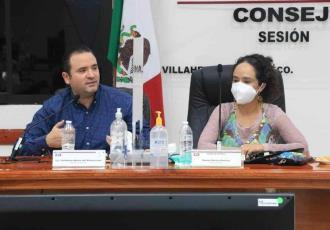 Acuerda secretario de Gobierno comunicación permanente con el IEPC por instrucción del Gobernador