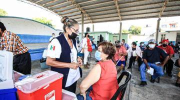 Supera Tabasco los 2 millones de dosis aplicadas de la vacuna contra el coronavirus