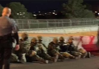 Detienen en EE. UU. a militares mexicanos por cruzar la frontera armados y en unidades oficiales