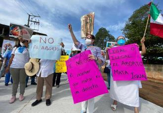 Se suman mil organizaciones a la marcha contra el aborto del 3 de octubre