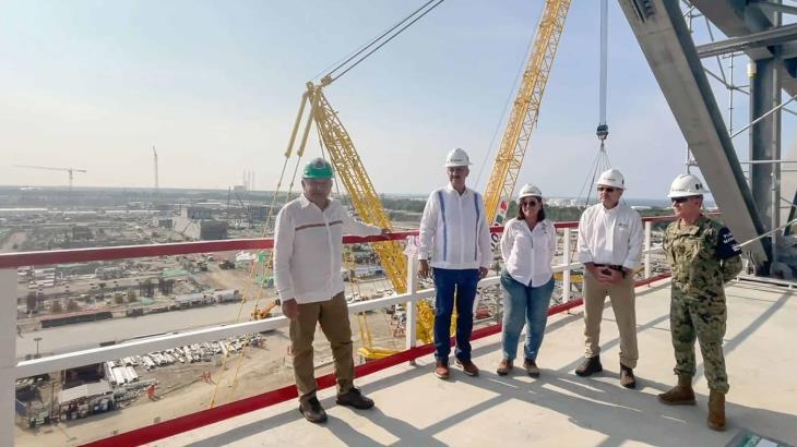 En nueve meses se inaugura la refinería de Dos Bocas: AMLO