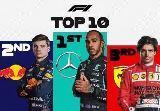 Hamilton llega a 100 victorias en F1; Red Bull ´boicotea´ a Checo Pérez y cae a 9no