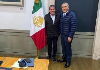 Se reúne David Monreal con AALH; hablan sobre el magisterio zacatecano