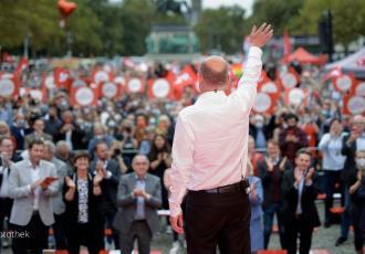 Aventajan socialdemócratas en las elecciones de Alemania