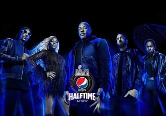 Dr. Dre y Eminem se presentarán en el medio tiempo del Super Bowl