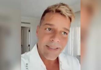 Aclara Ricky Martin... que no se hizo nada en el rostro