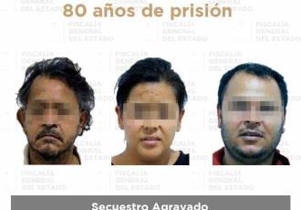 Sentencian a 80 años de prisión a secuestradores por hechos ocurridos en 2017 en Tamulté