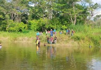 Se ahogan dos menores en dragado, en Comalcalco