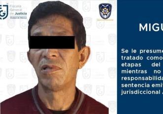 Detienen a presunto violador serial en CDMX; lo buscaban desde 2012