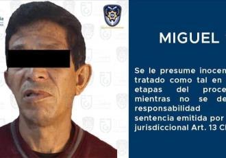 Aprehenden a presunto violador serial en CDMX... lo buscaban desde 2012
