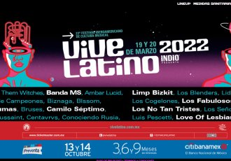 Revelan el cartel del Vive Latino 2022