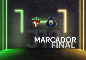 Pumas Tabasco consigue empate 1-1 ante Tlaxcala
