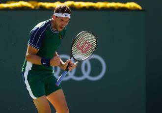 Medvedev, eliminado a manos de Dimitrov en Indian Wells