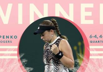 Ostapenko y Azarenka, primeras semifinalistas del Indian Wells