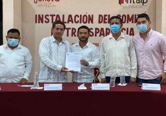 Inician Jonuta y Emiliano Zapata ruta hacia la transparencia, celebra Itaip