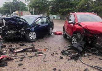 Carambola en la Villahermosa-Nacajuca deja tres lesionados