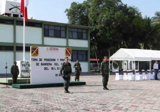 Llevan a cabo relevo en el 18 Batallón de Infantería de la 38 Zona Militar con sede en Tenosique