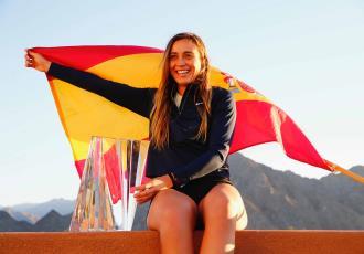 Paula Badosa, campeona del Master 1000 Indian Wells